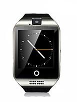 Hombre Reloj Smart Reloj de Moda Digital Resistente al Agua Caucho Banda Negro