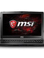 MSI gaming laptop 15.6 inch Intel i7-7700HQ 8GB DDR4 128GB SSD 1TB HDD Windows10 GTX1050 2GB GL62M 7RD-223CN