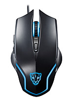 Motospeed F60 6Keys 4000FPS 2000DPI Wired Game Mouse Black