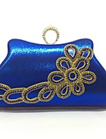 Women Evening Bag Metal All Seasons Event/Party Any Shape Push Lock Silver Gold Blue