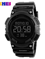 SKMEI  Chrono Double Time Digital Wristwatches 50M Water Resistant LED Display Watch Relogio Masculino Sports Watches