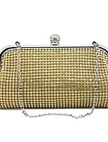 Women Evening Bag Metal Spring/Fall All Seasons Wedding Event/Party Casual Sports Formal Outdoor Office & Career Minaudiere Rhinestone