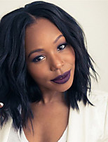 Fashion Black Color Wave Synthetic Wigs For Afro Women