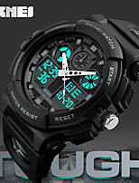 SKMEI Digital Double Time Chronograph Watch 50M Watwrproof Week Display Wristwatches Relogio Masculino Sports Watches