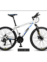 Mountain Bike Cycling 27 Speed 26 Inch/700CC MICROSHIFT 24 Double Disc Brake Suspension Fork Aluminium Alloy FrameOrdinary/Standard