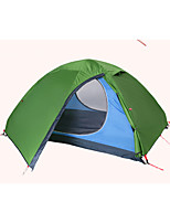 1 person Tent Double Fold Tent One Room Camping Tent 2000-3000 mm Nylon Polyester Taffeta Rain-Proof Dust Proof Foldable-Camping / Hiking