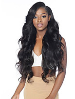 Side Part For Black Women Body Wave Brazilian Human Virgin Soft Hair Wigs Glueless Lace Front Wigs With Baby Hair On Sale