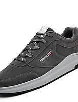 Для мужчин Спортивная обувь Удобная обувь Светодиодные подошвы Дышащая сетка Полиуретан Весна Осень Повседневные ШнуровкаНа плоской