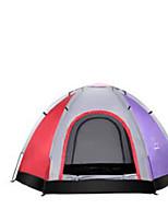 5-8 Pessoas Máscara Único Tenda Dobrada Barraca de acampamento Cetim Esticado Manter Quente-Acampar e Caminhar-