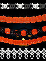 3 Meters Long Halloween Flowers/Decorations/Scene/Set Props/Paper La Flower Ghost Spider Pumpkins
