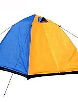 2 personnes Tente Double Tente automatique Une pièce Tente de camping 1000-1500 mm Fibre de Verre Térylène Etanche Pliable-Camping /