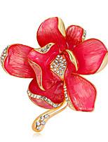 בגדי ריקוד נשים בנות תפס לשיער עיצוב מיוחד אופנתי Euramerican עבודת יד סגסוגת Flower Shape תכשיטים עבור אירוע מיוחד מסיבה יומי טקס קזו'אל