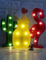 Plastic PCBLED Wedding Decorations-1 PieceWedding Anniversary Birthday New Baby Party/Hot Bird Cactus Pineapple Decorated Led Lamp/Light Night Lamp