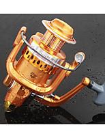 Fishing Reel Bearing Molinetes Rotativos 5.2:1 10 Rolamentos TrocávelPesca de Mar Pesca de Água Doce Pesca de Isco Pesca Geral Pesca de