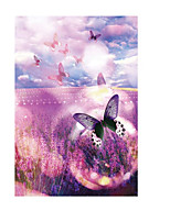 Jigsaw Puzzles Jigsaw Puzzle Building Blocks DIY Toys Flower Butterfly Wooden