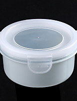 Plastic Mini Kitchen Round Sealed Lunch Box