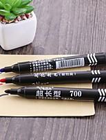 3PCS Large Capacity  Oil Head Mark Pen Carton Writing Notes Pen for School & Office Supplies 3Color