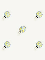 1.5W LED Crystal Light G4 9SMD 5630 White/Warm White DC12V 5Pcs