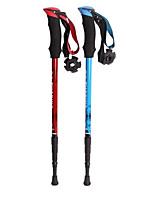 3 Nordic Walking Poles 110cm (43 Inches) Damping Durable Flexible Aluminum Alloy 6061