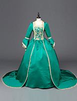 Steampunk® Top Sale Green Victorian Gothic Dress Ball Gown Steampunk Costume Theatre Clothing