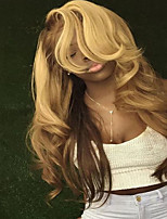 T27/613 Body Wave Ombre Virgin Hair Wigs Glueless Lace Front Wigs With Baby Hair Curly For Black Women