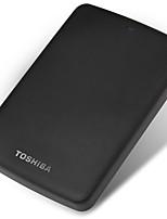 Toshiba 2tb 2,5 pouces usb3.0 plastique noir indicateur lumière matte texture disque dur externe