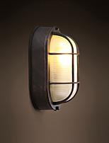 60 E26/E27 Moderne/Contemporain Rustique Fonctionnalité Eclairage d'ambiance Applique murale