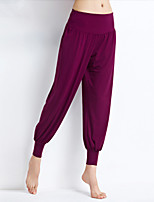 Women's Running Bottoms Fitness, Running & Yoga Spring Summer Yoga Dancing Modal Loose Sport