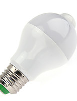 7W LED Smart Bulbs A60(A19) 14 SMD 5730 650 lm Warm White Cool White Infrared Sensor Human Body Sensor Light Control AC85-265 V 1 pc