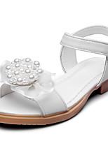 Девочки Сандалии Удобная обувь Дерматин Лето Осень Свадьба Для праздника Для вечеринки / ужина Удобная обувь Аппликация На липучкахНа