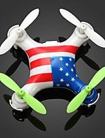 Drone WL Toys V676A 4 Canaux 6 Axes Eclairage LED Sécurité Intégrée Mode Sans Tête FlotterQuadri rotor RC Télécommande Manuel