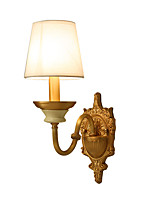 AC110-240 E12/E14 Tiffany Simple Country Traditional/Classic Brass Feature for Mini Style Bulb IncludedUplight Wall Sconces Wall Light C
