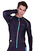 Zipper Diving Suits Men Split Quick Drying Sun Surfing Clothing Import Large Size Jellyfish Clothing