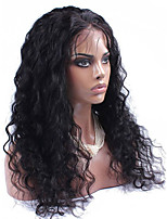 Elegant Glueless Lace Front Human Hair Wigs With Baby Hair Water Wave For Black Women Soft Hair 8-26 Inch