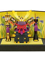 Пазлы Набор для творчества 3D пазлы Строительные блоки Игрушки своими руками Воин