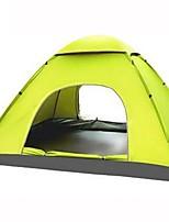 2 personnes Tente Unique Tente automatique Une pièce Tente de camping 1000-1500 mm Fibre de Verre Térylène Etanche Pliable Tente-Camping