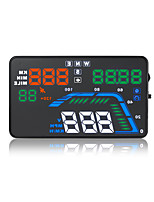 GEYIREN Q7 Universal HUD Header Display Speed Speed Time Altitude Voltage Time Distance