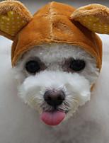 Собака Банданы и шляпы Одежда для собак На каждый день Животные Кофейный Зеленый Розовый