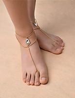 Women's Anklet/Bracelet Gem Rhinestone Fashion Bohemian Drop Jewelry 147 Dailywear Casual Outdoor clothing Going out 1 pcs