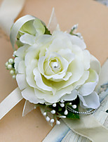 Yuxiying Wedding Wrist Corsages Rose Fiower More Coloer