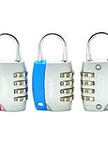RESET RST-052 Zinc Alloy Padlock Padlock Four Digit Password 3 Assemble Set Door Lock Door Gymnasium Student Cabinet Dail Lock Password Lock