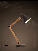 Solid Wood Creative Simple Office Eye Protection Lamp Bedside lamp