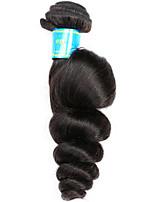 Tissages de cheveux humains Cheveux Brésiliens Ondulation Lâche 12 mois 1 Pièce tissages de cheveux