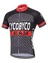 CYCOBYCO Bike/Cycling Shirt / Sweatshirt / Jersey Men's Short SleeveBreathable / Moisture Permeability / Quick Dry / Cycling Jersey