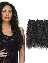 Tissages de cheveux humains Cheveux Brésiliens Bouclé 1 An 3 Pièces tissages de cheveux
