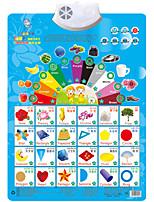 Образовательные игры с карточками Игрушка для обучения чтению Квадратный Пластик 1-3 лет 3-6 лет