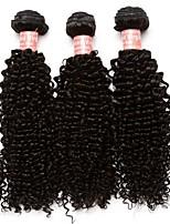 Tissages de cheveux humains Cheveux Mongoliens Très Frisé 12 mois 3 tissages de cheveux
