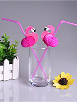 50 / Group/Flamingo Pipette/Plastic Straws/Flamingo Shooting Props
