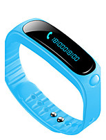 Hombre Reloj Smart Reloj de Moda Digital Resistente al Agua Caucho Banda Negro Azul Naranja Verde Rosa