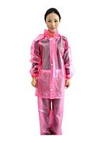 Motorcycle-Style Raincoat Rain Pants Suit Fashion Light Waterproof Clothing Poncho